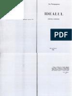 Ion Protopopescu - Idealul - ed. Dacoromania, Madrid - 1962