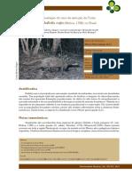 Galictis cuja - Avaliação do Risco de Extinção