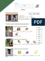 PLNM A1_associar Imagens a Palavras