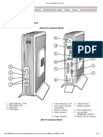 HP Compaq t5720 Thin Client uputstvo