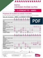 Ligne Clermont Nîmes