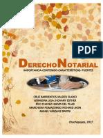 Derecho Notarial, IMPORTANCIA, CONCEPTOS, FUENTES