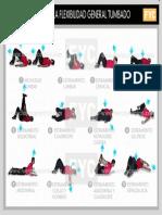 Tabla de flexibilidad tumbado. (Gravedad actitud postura centro eje fascia costillas ejercicios pesas musculacion periostitis.pdf