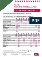 Ligne Clermont Aurillac