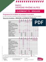 Ligne Clermont - Brioude