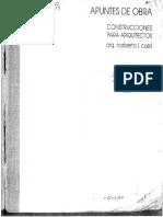 Apuntes de Obra I - Construcciones para Arquitectos - ARQUI BIBLIOTECA - AB.pdf