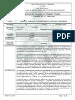 Programa Ase. Co. y Ope. de Ent. Fin.-133202- Vs 1