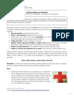 Cajita Literaria (Instrucciones)