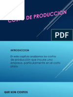 Costo de Produccion Edwin
