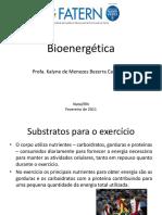 Aula 2 - Bioenergética