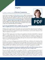 Profile in Public Integrity-Ann Ravel
