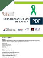 GUIA DE MANEJO SINDROMICO  DE LAS ITS