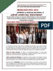 COMUNICADO N°004- 2014 - SINACOBSS