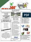 4. April 2017 Kids' Corner Newsletter