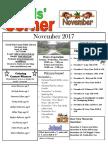 11. November 2017 Kids' Corner Newsletter