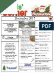 12. December 2017 Kids' Corner Newsletter