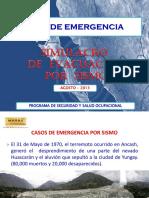 Simulacro Evacuación Por Sismo 2013