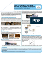 Poster Analysis of Cracks Resulting From Thermite Welding of Chatodic Protection