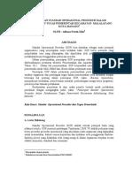 1092 ID Penerapan Standar Operasional Prosedur Dalam Pelaksanaan Tugas Pemerintah Kecama