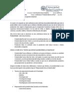 """Conferencia """"Productividad en El País"""""""