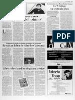 Resaltan labor de Sánchez Vázquez [Reforma, 10 de junio 1994]