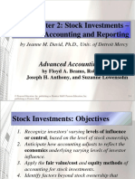 Beams10e Ch02 Stock Investments Investor Accounting and Reporting