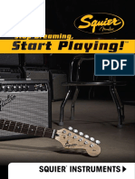 Squier Instruments Catalog