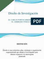 Diseño Investigación UPC