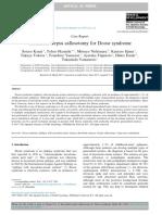 Corpus Callosotomy for Doose Syndrome