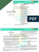 Reglamento de Estudios Pregrado