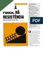 Foucault Poder e Resistência