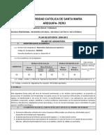 Sílabo de Matemática Aplicada-2001