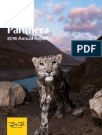 Panthera Annual Report 2016