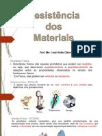 RESISTENCIA DOS MATERIAIS - 1 - Resistencia Dos Materiais e Equilibrio Das Estruturas