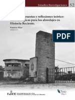 Historia Recientes Abordajes Teoricos Metodologicos