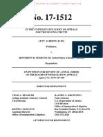 Jaen Govt Brief