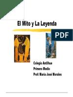 Lenguaje Mito y Leyenda