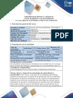 Guia de Actividades y Rúbrica de Evaluación - Ciclo Tarea 2 - Analizar La Relacion de Las Comunidades en Los Ecosistemas