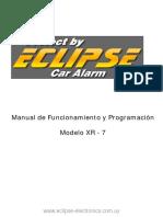 Manual Eclipse XR-7