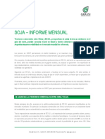 Soja - Informe Mensual - Abril 2018
