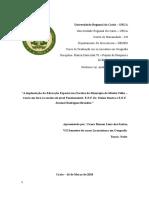 Projeto de Pesquisa Em Geografia Ramon 2018