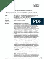 a influencia del embalursos hídricos en las subcuencas de los ríos Tomebamba y Pindilig (provincias Azuay y Cañar, Ecuador). 2011