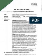 RTFM Análisis y estimación de la evolución térmica del embalse de Amadorio con un modelo hidrodinámico. 2009