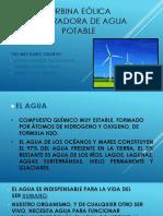 Turbina Eólica Generadora de Agua Potable - The Mechanic Orange