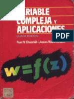 Variable Compleja y sus Apliaciones - Ruel V. Churchill 5ta Ed.pdf