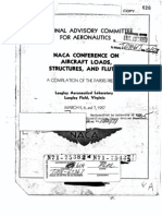 NACA Conference on Aircraft Loads 1957