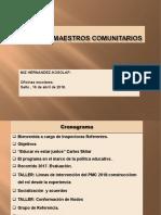 PMC - 1era Reunión 2018