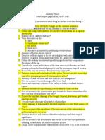 Anatomy Topicss