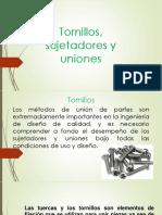 Tornillos, Sujetadipores y Uniones