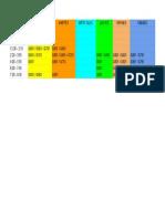 Horarios para UPN Cursos ETC